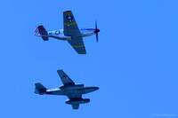 1504 P51 Mustang and Me 262 Jet