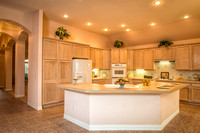 Kitchen in Robson Ranch Home in Denton Texas