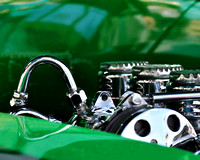 Clean Green Engine Compartment