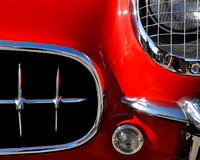 '54 Red Covette Grille