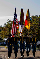 Approach of Honor Guard